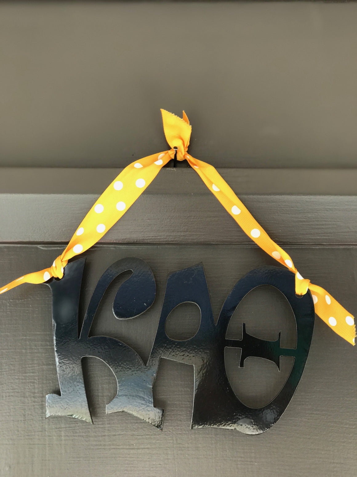 Hanging Metal Greek Letters - Kappa Alpha Theta