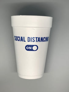 Social Distancing 2020 Styrofoam Cup