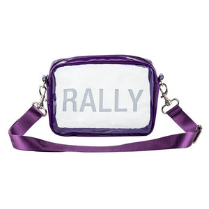 Purple Rally Stadium Bag
