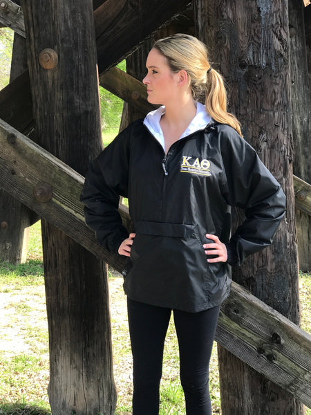 Charles River Rain Jacket - Kappa Alpha Theta - Texas Christian University