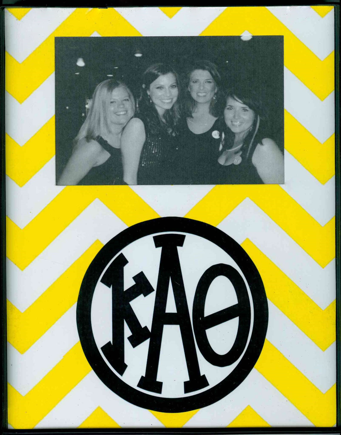 Frame with Printed Mat - Kappa Alpha Theta