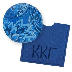 Button Mirror - Kappa Kappa Gamma