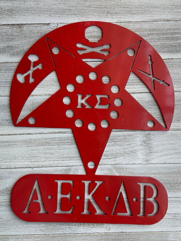 Metal Wall Decor - Kappa Sigma
