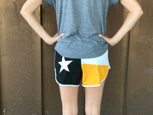 Texas Flag Sorority Shorts - Kappa Alpha Theta