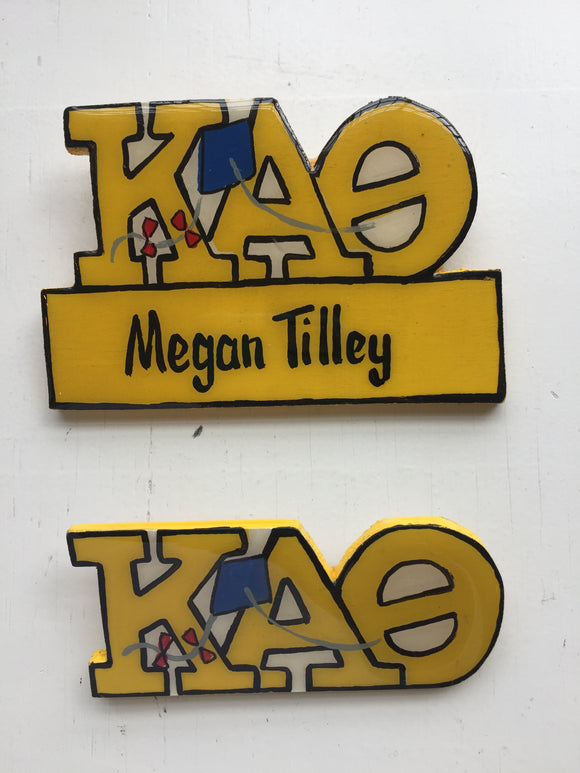 Name Tag - Kappa Alpha Theta