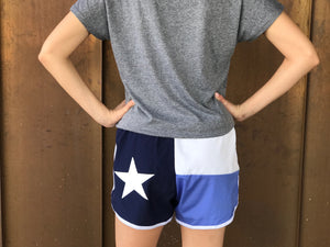 Texas Flag Sorority Shorts - Kappa Kappa Gamma