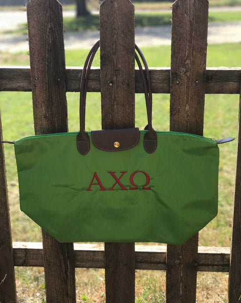 Nylon Tote Bag - Alpha Chi Omega