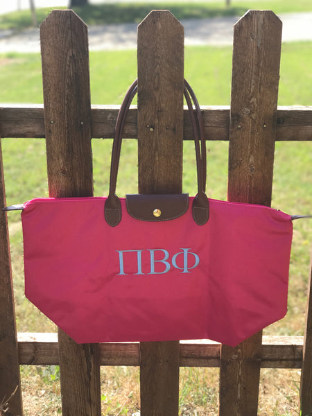 Nylon Tote Bag - Pi Beta Phi