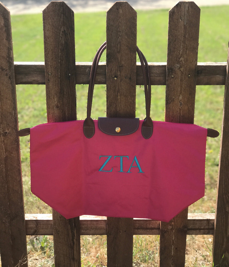 Nylon Tote Bag - Zeta Tau Alpha