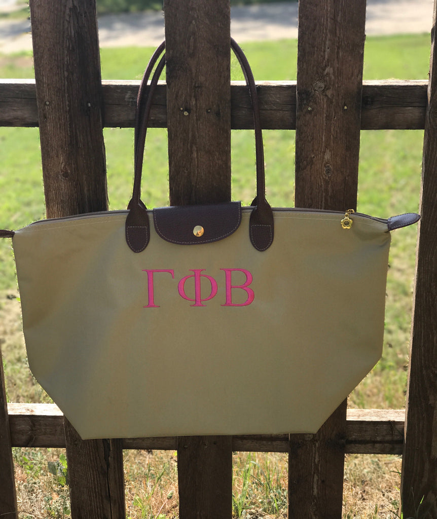 Nylon Tote Bag - Gamma Phi Beta