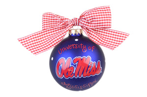 Coton Colors Dot Ornament - Ole Miss