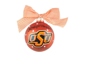 Coton Colors Dot Ornament - Oklahoma State