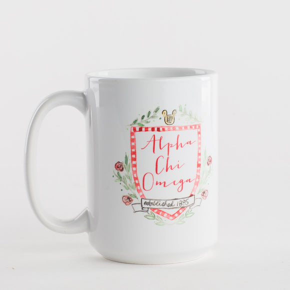 Sorority Crest Coffee Mug