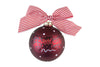 Coton Colors Dot Ornament - Oklahoma