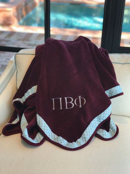 Fleece Blanket - Pi Beta Phi