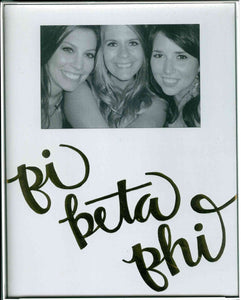 Frame with Printed Mat - Pi Beta Phi