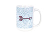 Small Dot Mug - Pi Beta Phi