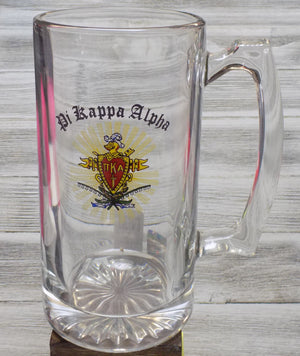 Glass Stein - Pi Kappa Alpha