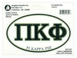Fraternity Euro Decal - Pi Kappa Phi