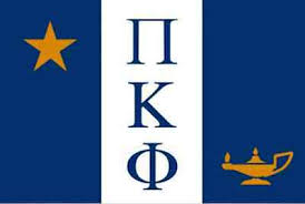 Fraternity Flag Decal - Pi Kappa Phi