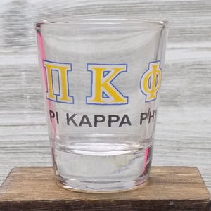 Shot Glasses - Pi Kappa Phi