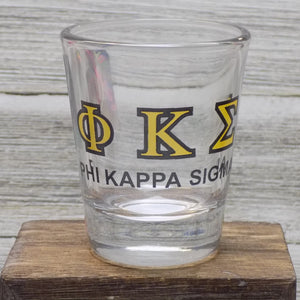 Shot Glasses - Phi Kappa Sigma