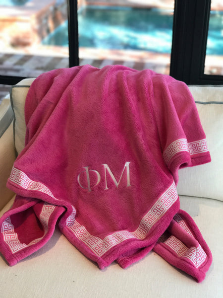 Fleece Blanket - Phi Mu