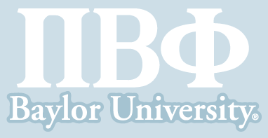 Pi Beta Phi / Baylor University - Car Decal