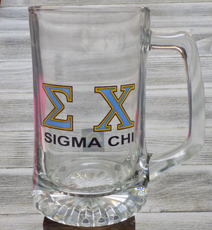 Glass Stein - Sigma Chi
