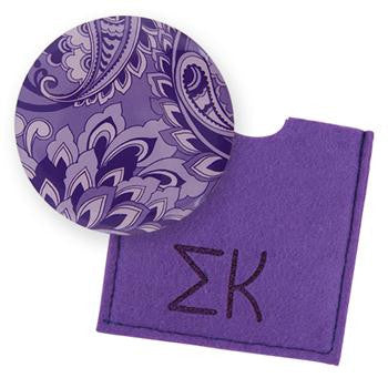 Button Mirror - Sigma Kappa