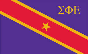 Fraternity Flag Decal - Sigma Phi Epsilon