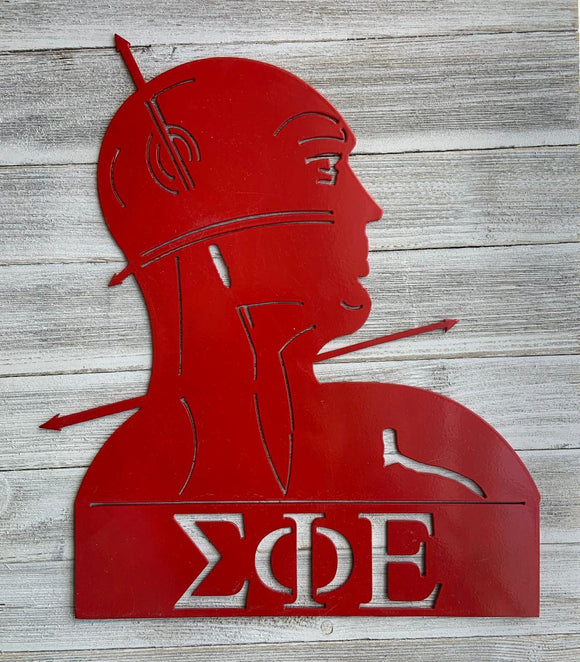 Metal Wall Decor - Sigma Phi Epsilon