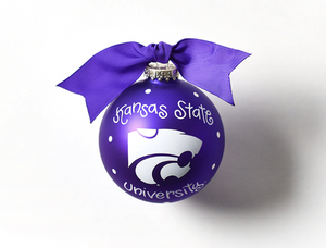 Coton Colors Dot Ornament - Kansas State