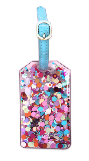 Luggage Tag - Confetti Multi
