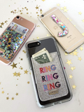 Ring Ring Phone Card Holder