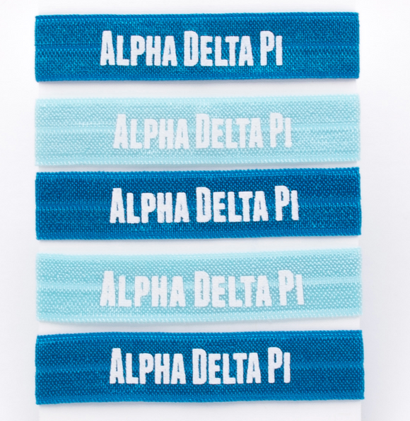 Hair Ties - Alpha Delta Pi