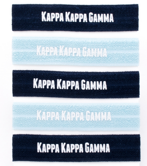 Hair Ties - Kappa Kappa Gamma