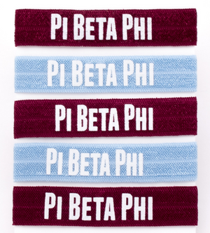 Hair Ties - Pi Beta Phi