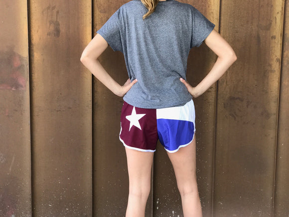 Texas Flag Sorority Shorts - Sigma Kappa