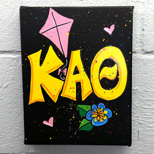 Splatter Canvas - Kappa Alpha Theta
