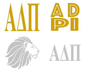 Metallic Sticker Pack - Alpha Delta Pi