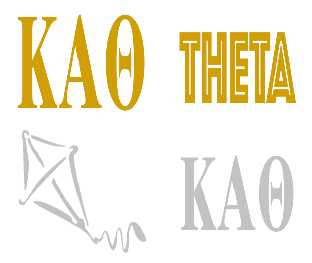 Metallic Sticker Pack - Kappa Alpha Theta