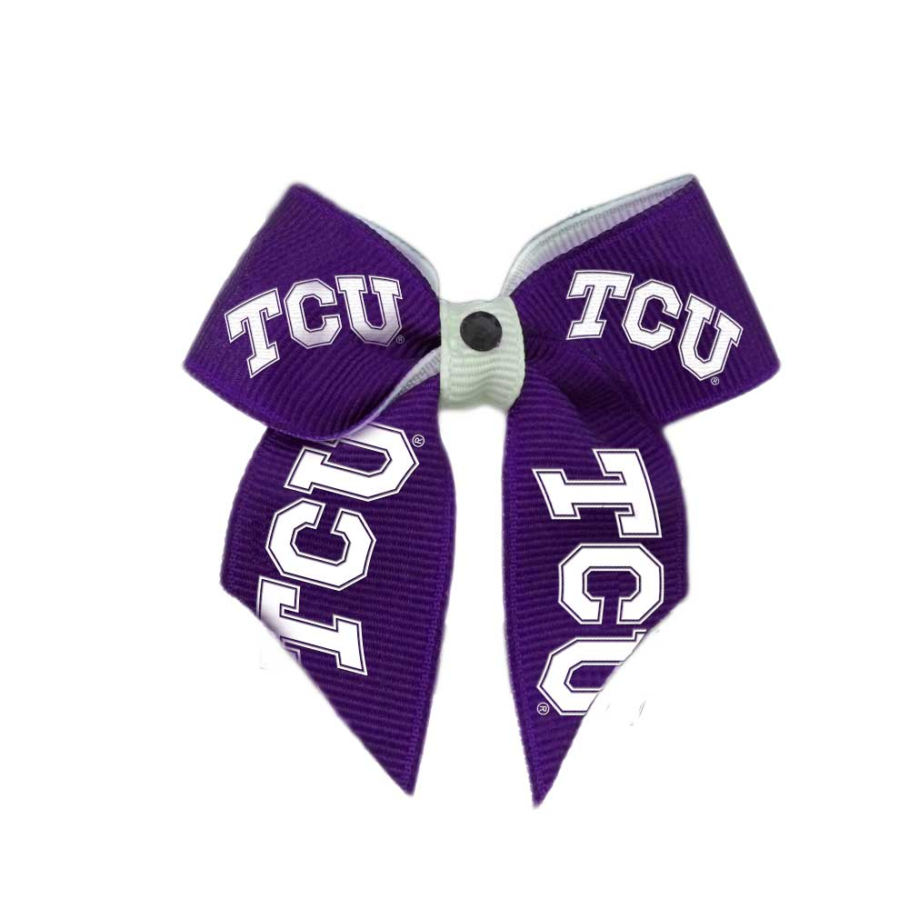 TCU Hair Bow