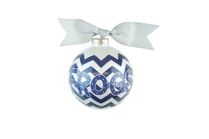 Coton Colors Chevron Ornament - TCU