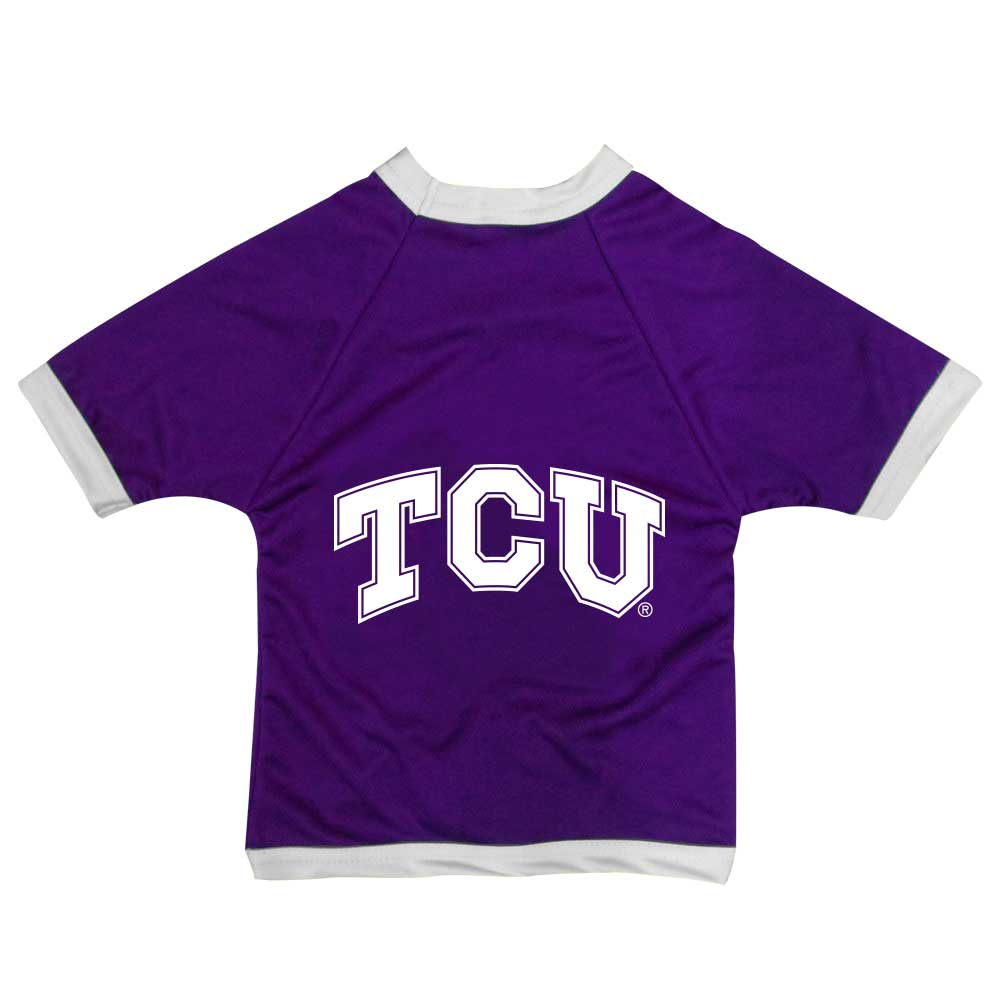 TCU Athletic Mesh Dog Shirt