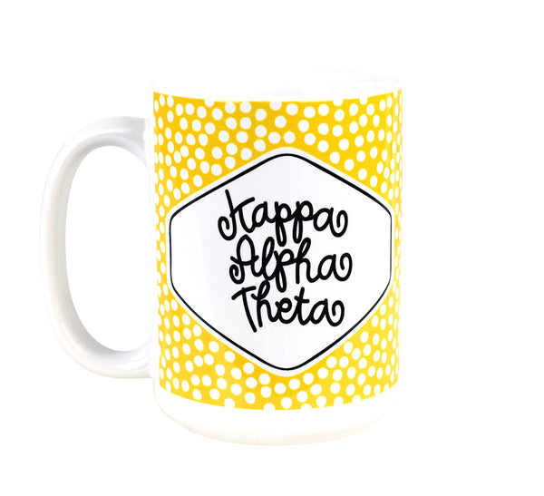 Small Dot Mug - Kappa Alpha Theta