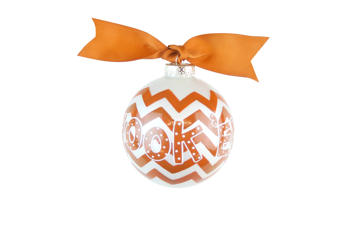 Coton Colors Chevron Ornament - Texas