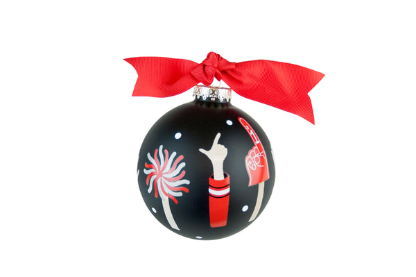 "Coton Colors ""Guns Up"" Ornament - Texas Tech"