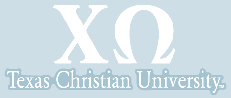 TCU Car Decal - Chi Omega