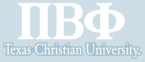 Pi Beta Phi / Texas Christian University - Car Decal